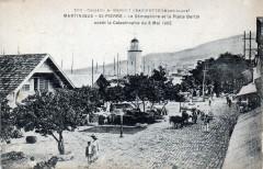 Le Sémaphore et la place Bertin