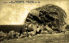 Martinique Bombe volcanique du Mont-Pelé