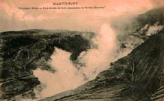 Martinique Coulée de lave du Mont-Pelé