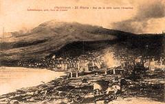 Martinique Saint-Pierre après l'éruption du Mont-Pelé