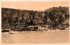 Martinique Saint-Pierre vue de la mer