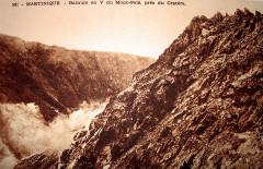 Martinique volcan du Mont-Pelé