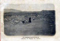 Ruines de l'église du Centre