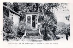 Saint-Pierre, Entrée du jardin des Plantes