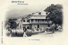 Saint-Pierre, la douane