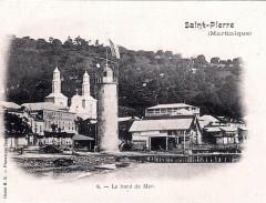 Saint-Pierre, le bord de mer