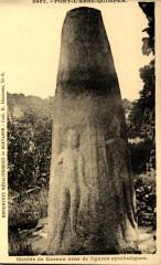 Le menhir de Kernuz - Pont-l'Abbé