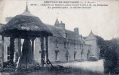 Le menhir-autel au château de Kernuz - Pont-l'Abbé