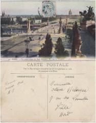 33 Paris — Vue panoramique du Pont Alexandre Iii — Ll - Paris 8e