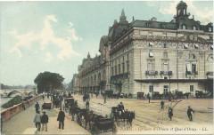 La Gare d'Orléans et Quai d'Orsay - Paris 7e