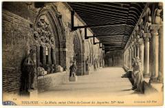 121. Toulouse. Le Musée, ancien cloître du couvent des Augustins, XVe siècle. Collections Nd Phot. - FRAC31555 9Fi1685 - Toulouse