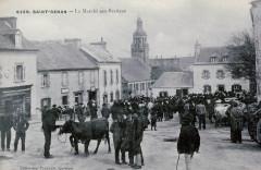 Saint-Renan Marché aux bestiaux Villard - Saint-Renan