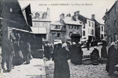 Saint-Renan Place du marché Villard - Saint-Renan