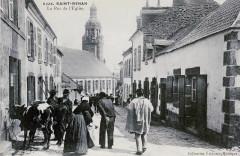 Saint-Renan Rue église Villard - Saint-Renan