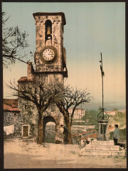 Mont Chevalier, the tower and calvary, Cannes, Riviera-LCCN2001699283 - Cannes