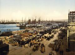 Flickr - …trialsanderrors - Quay de la Joliette, Marseille, France, ca. 1895 - Marseille 2e Arrondissement