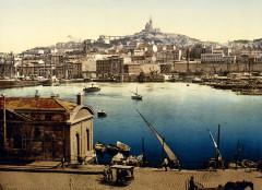 Marseille-Vieux port vers 1900 - Marseille 2e Arrondissement