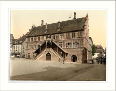 Hotel de Ville (town hall) Mulhausen Alsace Lorraine Germany - Mulhouse