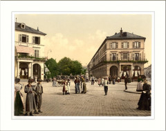 Place du Quartier Neff Mulhausen Alsace Lorraine Germany - Mulhouse