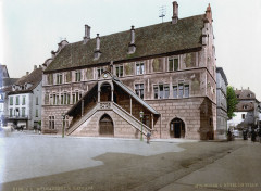 Rathaus Muelhausen 1900 - Mulhouse