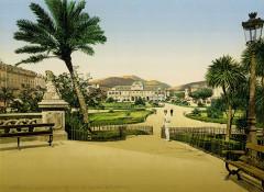Flickr - …trialsanderrors - Public garden ^ Casino, Nice, France, ca. 1899 - Nice