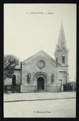 Carte postale - Meudon - Bellevue – L'Eglise 2 - Meudon