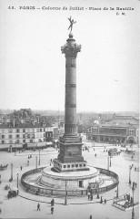 Paris-colonne de Juillet-place de la Bastille-Cm 45 - Paris 4e