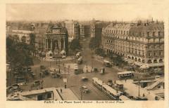 La Place Saint Michel - Paris 1er