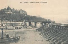 Passerelle de l'Estacade - 253 - Paris 4e