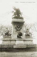 Statue Barye 1900 - Paris 4e