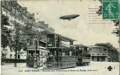 Station des Tramways et Gare de Passy 75 Paris 16e