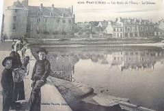 Pont-l'Abbé Les bords de l'étang et le château - Pont-l'Abbé