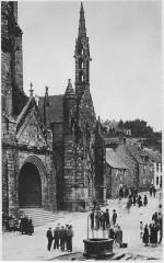 Saint-Ronan kerk in Locronan briefkaart - Locronan