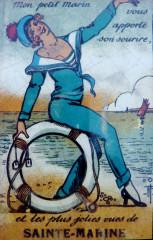 Sainte-Marine 001 Ancienne publicité touristique - Combrit