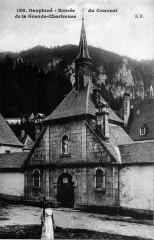 Entrée du Couvent de la Grande-Chartreuse - Saint-Pierre-de-Chartreuse