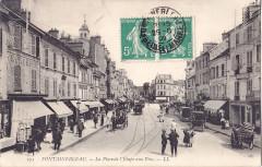 Ll 275 - Fontainebleau - La Place de l'Etape aux Vins - Fontainebleau