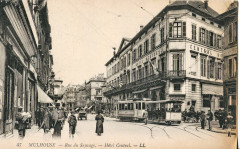 Ll 47 - Mulhouse - Rue du Sauvage - Mulhouse