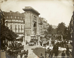 Léon & Lévy, Boulevard et porte Saint-Denis, c. 1889 02 - Paris 2e