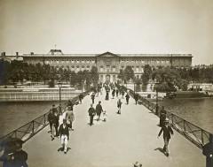 Léon & Lévy, Pont des Arts, c. 1889 - Paris 6e