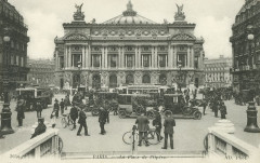 Neurdein et Cie, Paris – La Place de l'Opéra, ca. 1916 - Paris 2e