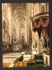 The Cathedral choir, Amiens, France-LCCN2001697552 France