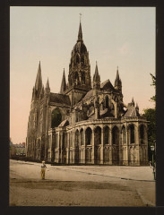 The cathedral, Bayeux, France-LCCN2001697569 France