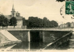 Pont de l'écluse de Troyes - Troyes