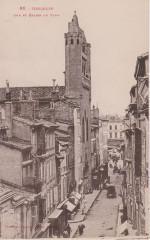 Toulouse - Rue et église du Taur (Labouche) - Toulouse
