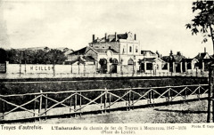 Carte postale troyes embarcadère - Troyes