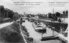 Port aux bois à Troyes - Troyes