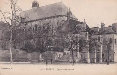 Troyes - Eglise Saint-Nicolas (CP TG) - Troyes