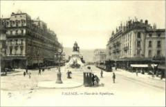 Valence - Place de la République - Valence