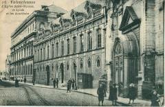 Hd 16 - Valenciennes - L'Eglise Saint-Nicolas, le Lycée et les Académies - Valenciennes