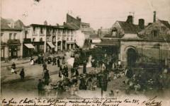 Inconnu 56 - Valenciennes - Marché aux légumes et Gare aux Tramways - Valenciennes